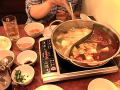 火鍋は辛かった by tomosunfish