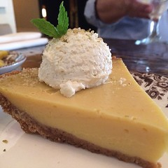 And a slice of key lime pie? Sure, why not? @sissysdallas