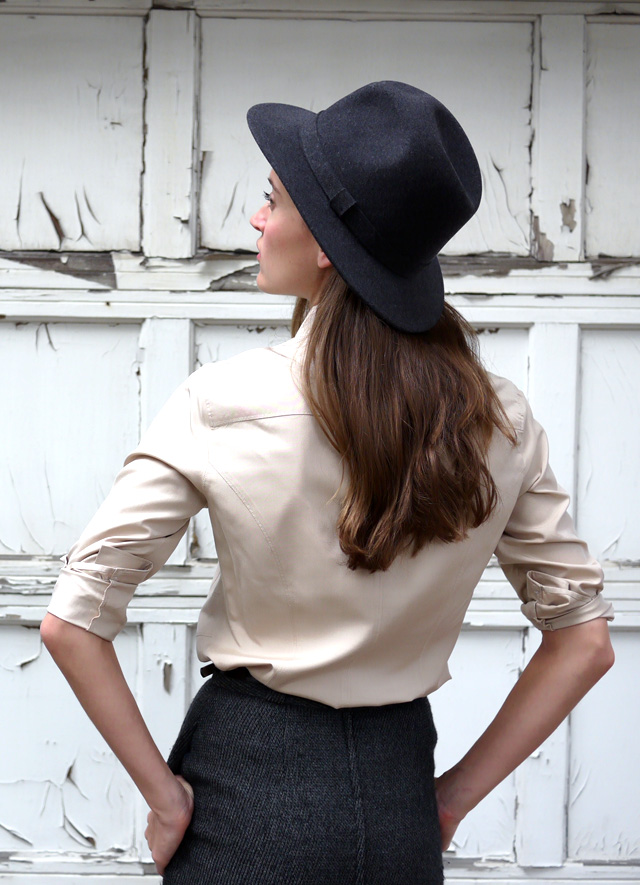 2 jcrew collaboration Bailey felt hat made in the USA