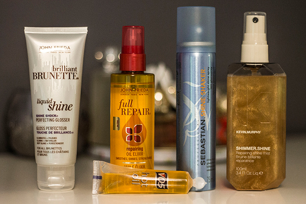 Products for Shiny Hair