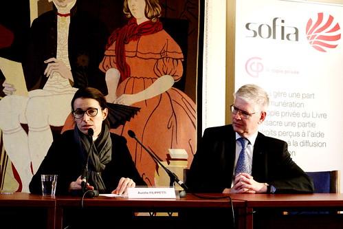 Aurélie Filippetti et Jean-Claude Bologne