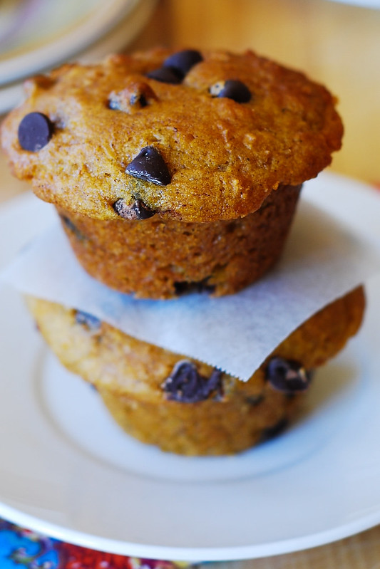 Christmas muffins, Thanksgiving muffins, holiday muffins baking with Greek yogurt, low-fat muffins