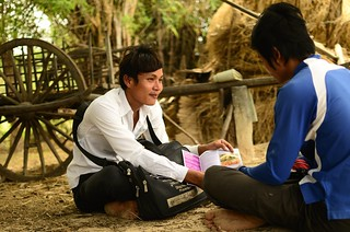 Cambodia, Khana HIV counselling. Khana is supported through the AusAID HIVAIDS program.