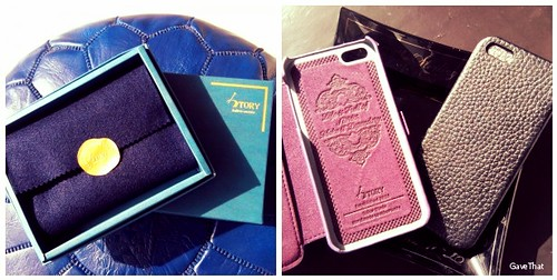 Story Leather Bespoke iPhone Cases