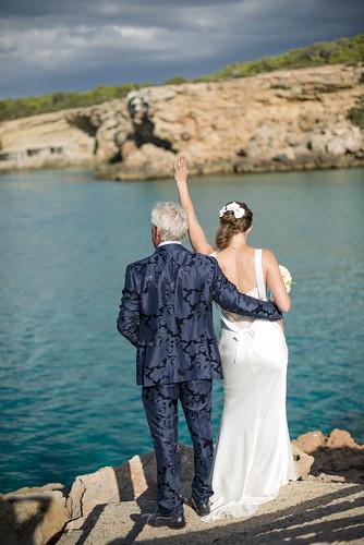 Eveline & Robin, real Ibiza wedding