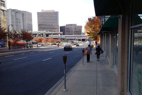 Colesville Road Looking South