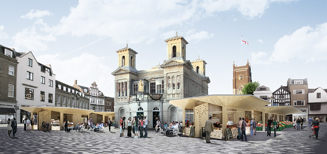 Kingston Ancient Market area day visualisation