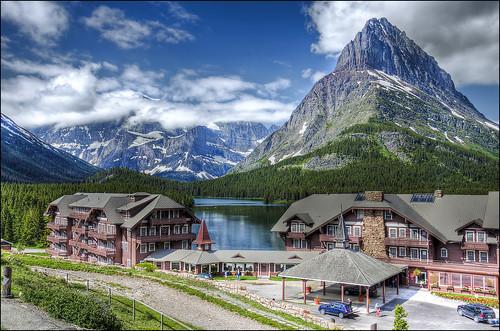 Many Glacier Hotel - Glacier Naitonal Park
