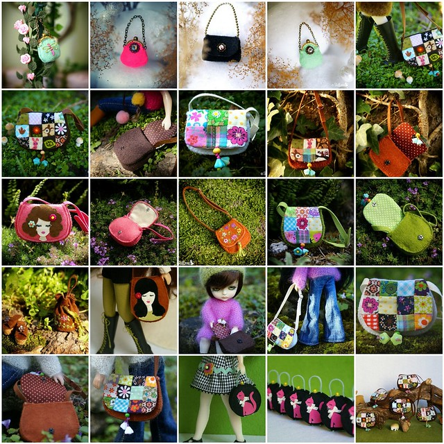 10 years of doll purses !