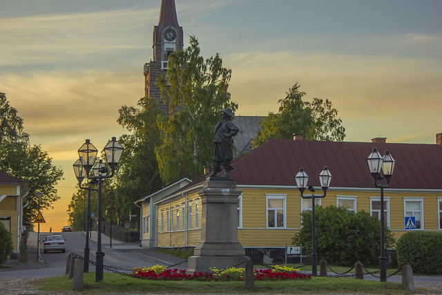 Raahe, Finlandia central
