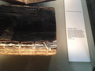 11th Century book being preserved