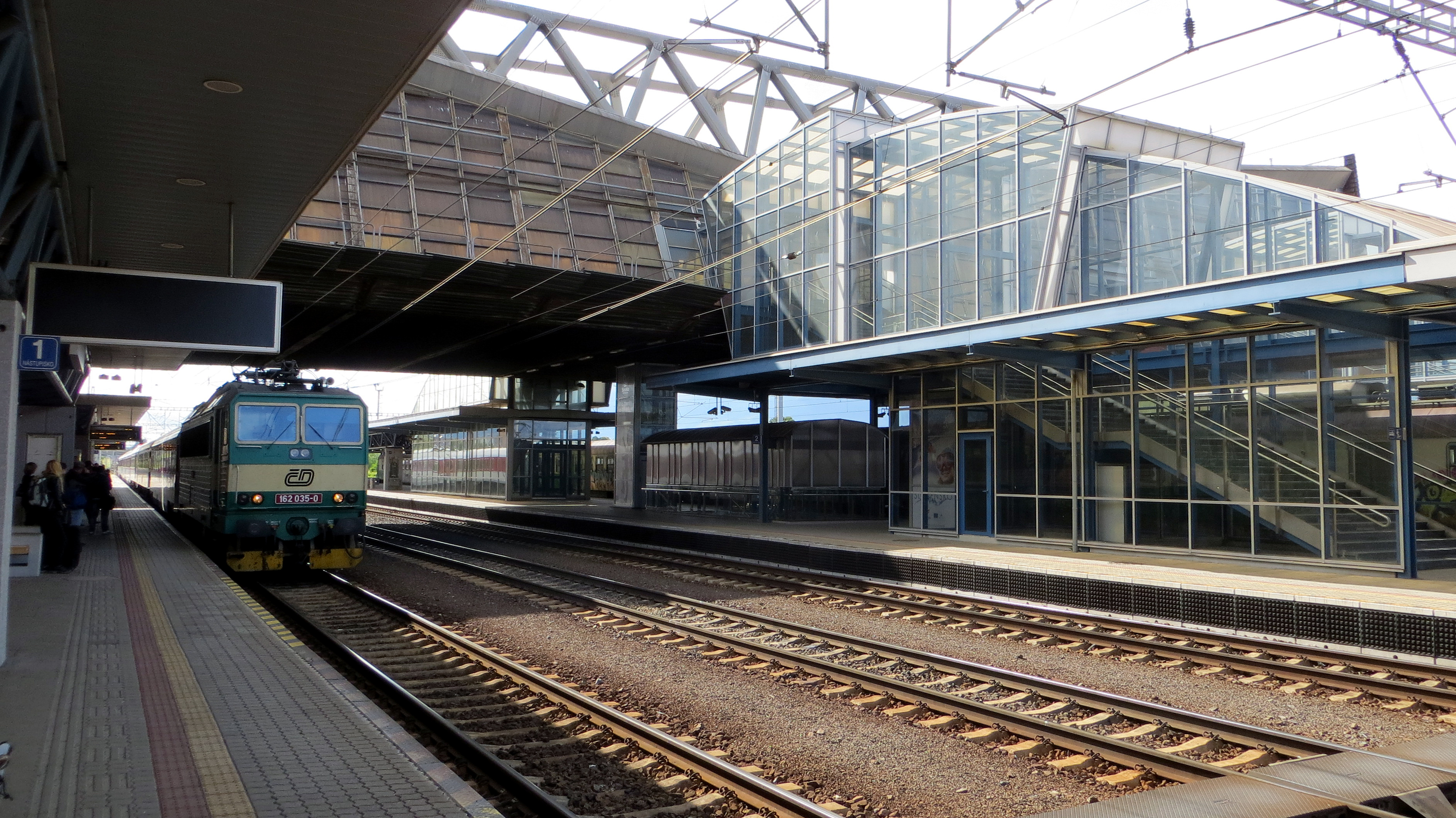 Trainstationspotting - Poprad train station, Slovakia, 2013