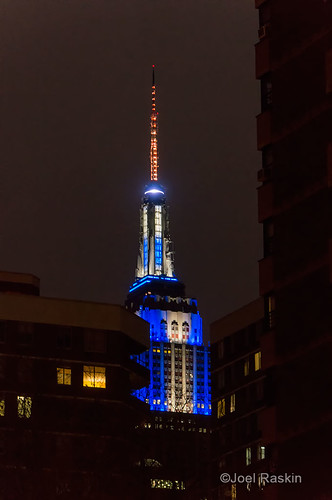 Empire State Building - Chanukah by Joel Raskin