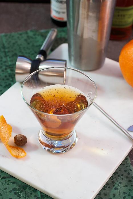 Orange Nutmeg Manhattan