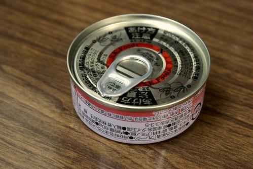 缶詰オイルランプ