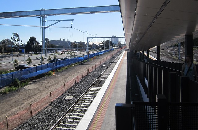 West Footscray station, platform 2