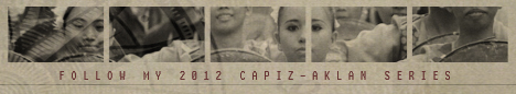 Follow my 2012 Capiz-Aklan Series