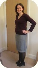 Hot patterns skirt
