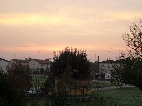 """""""cielo rosso di mattina, il bel tempo si avvicina"""" by meteomike"""