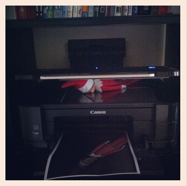 elf on the shelf printer