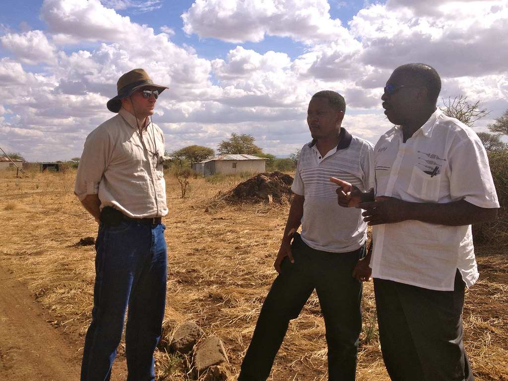 Meeting with Organizers in the Maasai Steppe