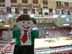 Flat Stanley loves BC basketball