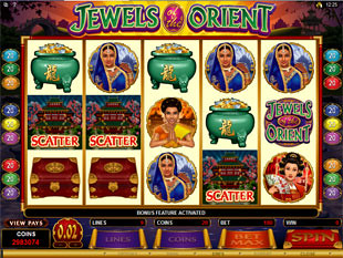 Jewels of the Orient Bonus Feature