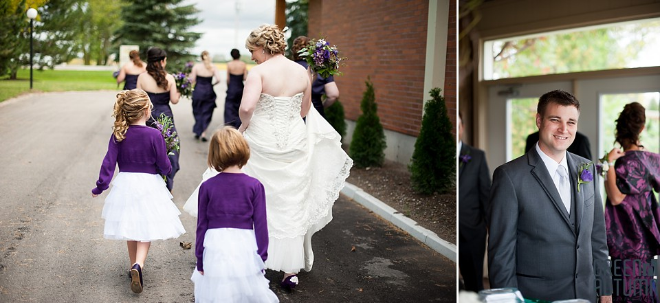 Autumn Huron County Hessenland Country Inn Wedding Photography