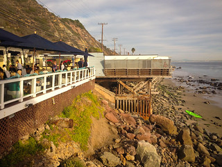 The Deck at Moonshadows in Malibu, California