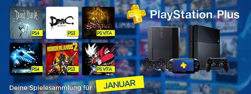 PS Plus im Januar 2014