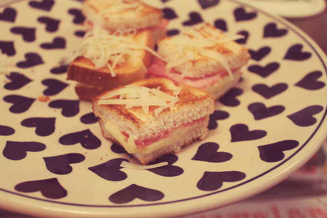 Croque Monsieur Bites