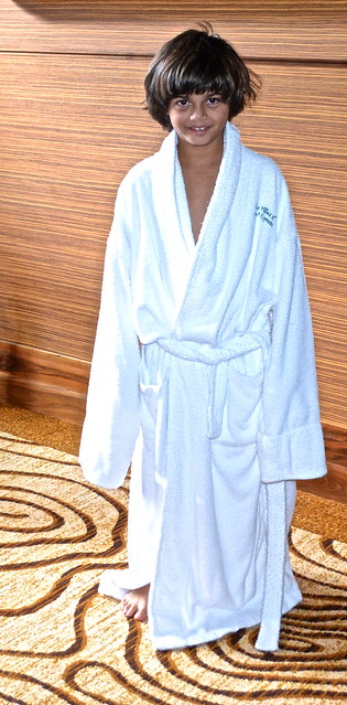 Cypress Gardens Villas and Golf Resort, Orlando Florida - bathrobe