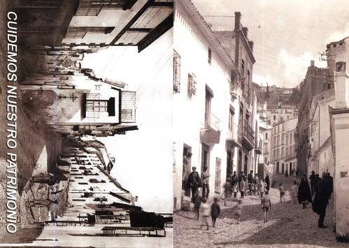 Albollón y Calle Real