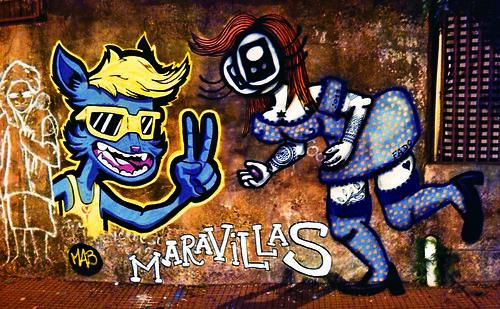 Maravillas por MAB & FADO by Fado (Fumando Ángeles)