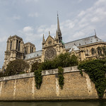 Notre Dame from the water
