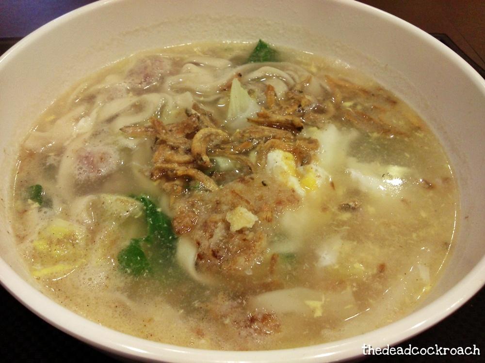 ban mian, food, jurong east, qiu lian ban mian, westgate, 秋莲板面,food review