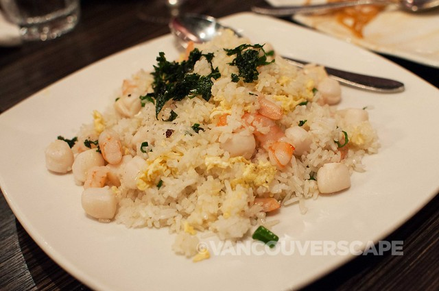 Kaya Malay Vietnamese shrimp & scallop fried rice