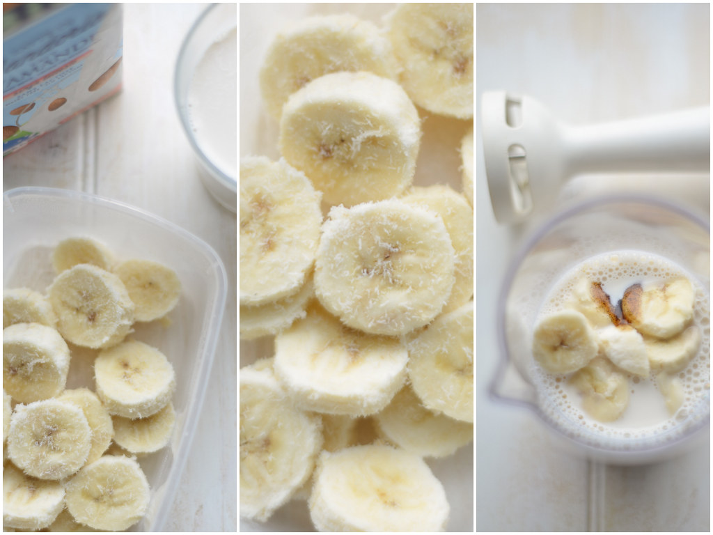 banaani-mandlipiimakokteil