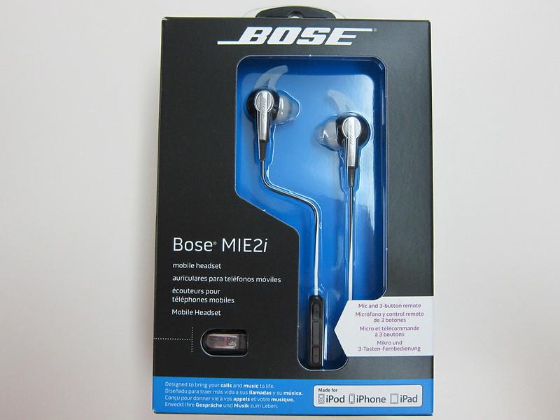 Bose MIE2i - Box Front