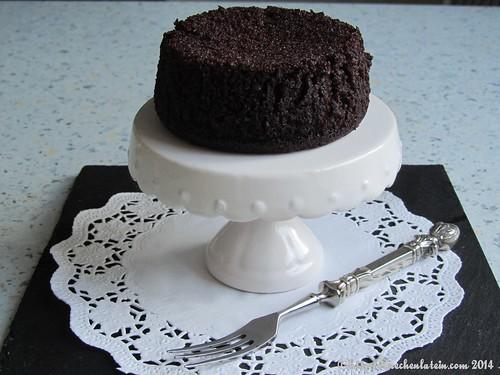 ©Schokoladen-Olivenöl-Kuchen aus dem  Weck®glas