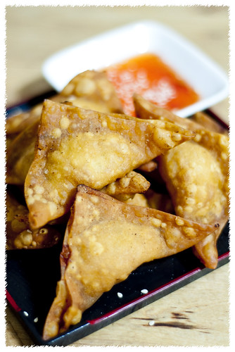 Crispy Chicken Wonton