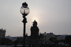 Vienna Maria Theresa Platz winter - 1