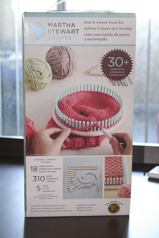 martha stewart knit and weave loom kit instruction booklet