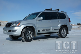 GX-470 with General Grabber AT2 Tires | TCT Magazine January 2014