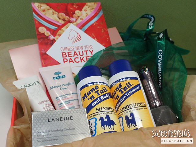 bellabox february 2014 chinese new year beauty packet