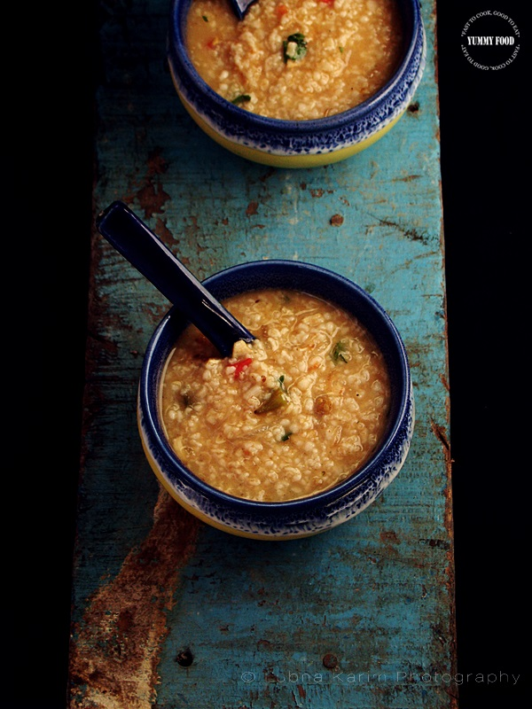Chicken and Oats Soup