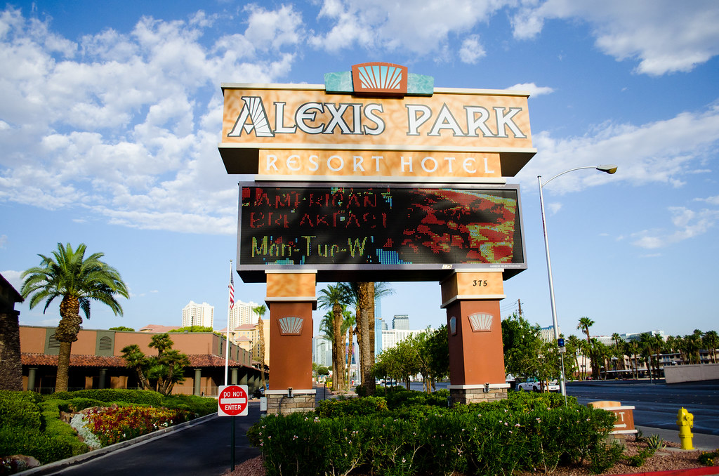 Alexis Park Hotel, Las Vegas.