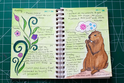 2014 Sketch Journal - Week 5