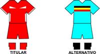 Uniforme Selección Germanina de Fútbol