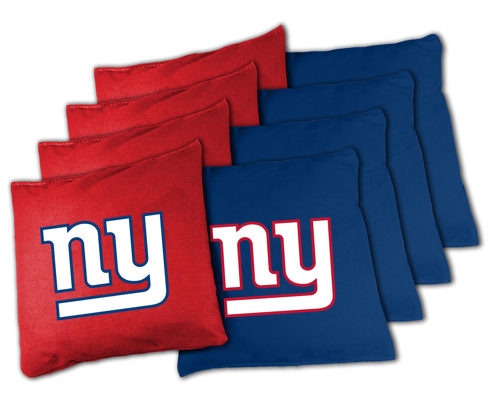 New York Giants Cornhole Bags